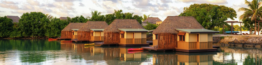 Staying in an overwater bungalow in Fiji