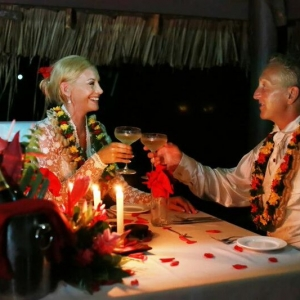 Romantic Fiji Honeymoon Dinner