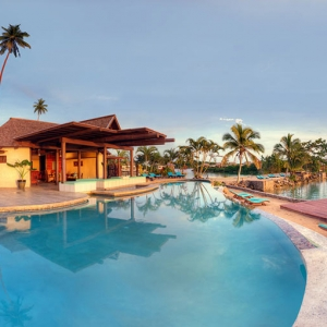 over water villas fiji