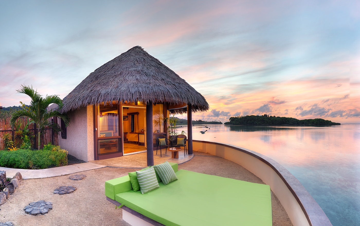 Staying In An Overwater Bungalow In Fiji Koro Sun
