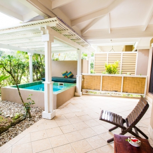 Two Bedroom Pool Bure