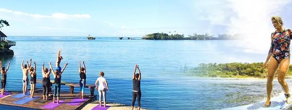 water bungalows fiji