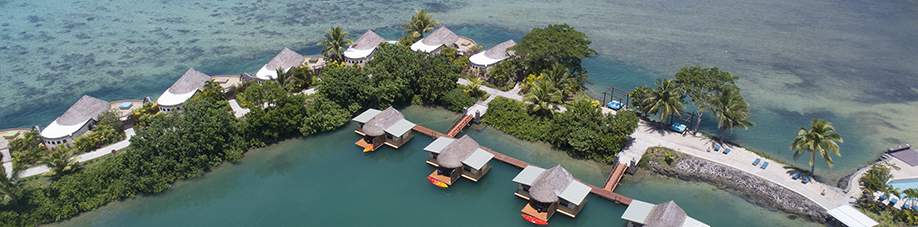 Why Stay Overwater When You Can Stay On the Water! Koro Sun welcomes with Fiji's only floating rooms